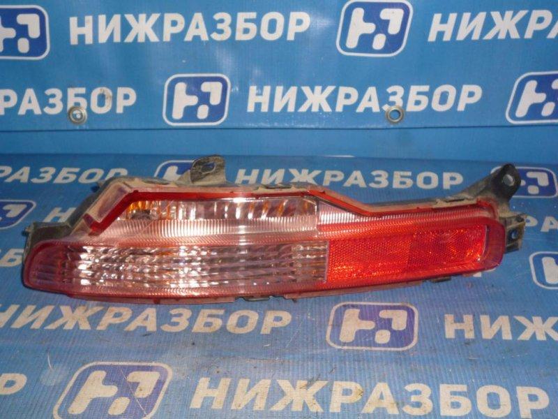 Фонарь в бампер Infiniti Ex 35 J50 3.5 (VQ35) 2008 задний левый (б/у)