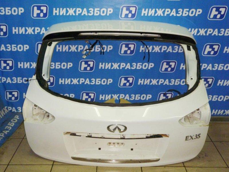 Дверь багажника Infiniti Ex 35 J50 3.5 (VQ35) 2008 (б/у)