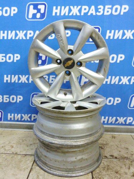 Диск литой Chevrolet Aveo T250 1.4 (F14D3) 2005 (б/у)