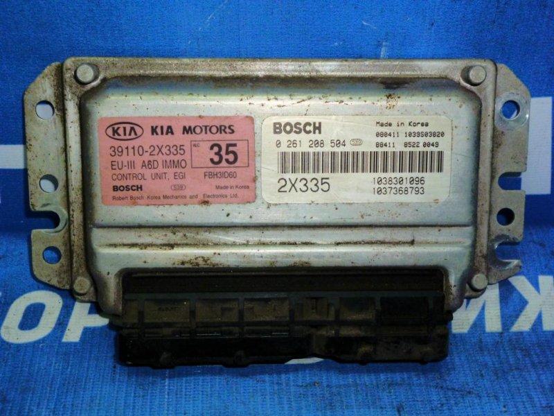 Блок управления двигателем Kia Spectra LD 1.6 (S6D) 2008 (б/у)