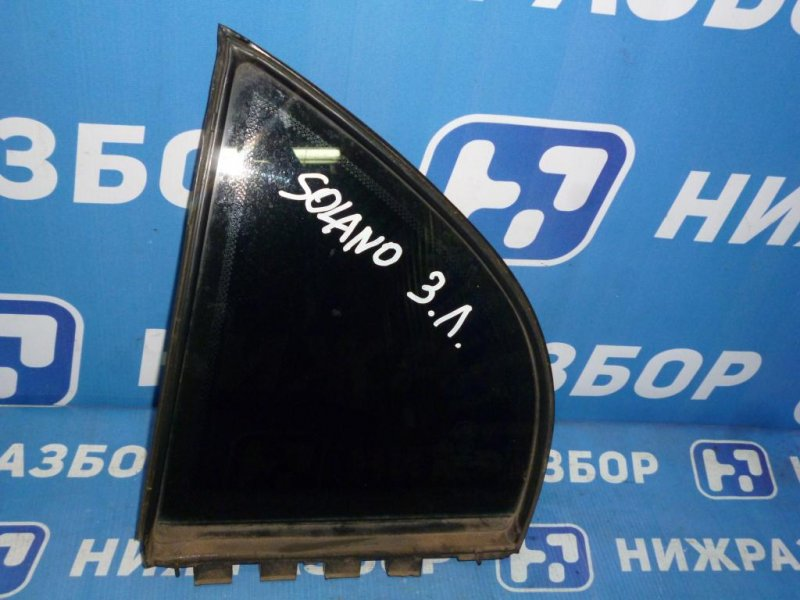Форточка двери Lifan Solano 620 1.6 (LF481Q1) 2011 задняя левая (б/у)