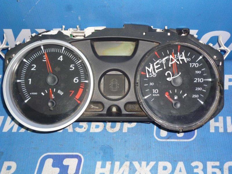 Панель приборов Renault Megane 2 СЕДАН 1.6 2002 (б/у)