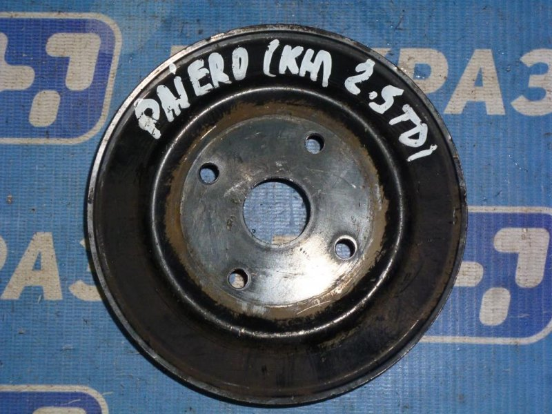 Шкив помпы Mitsubishi Pajero Sport 2 KH 2008 (б/у)