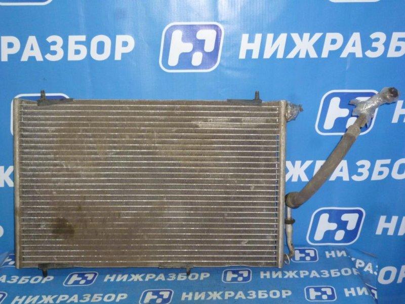 Радиатор кондиционера (конденсер) Peugeot 206 2008 (б/у)