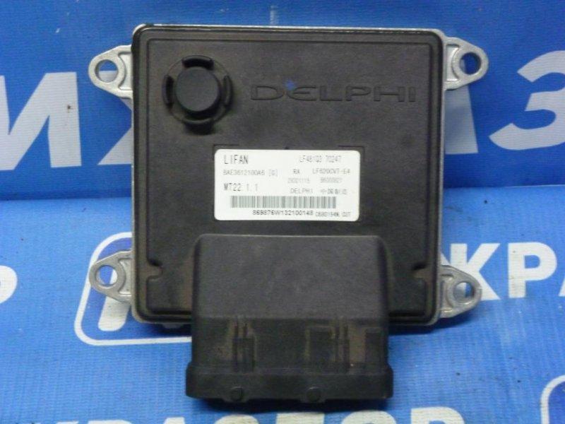 Блок управления двигателем Lifan Solano 620 1.6 (LF481Q1) 2011 (б/у)