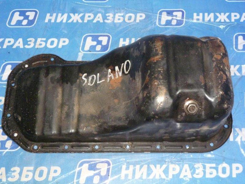 Поддон масляный двигателя Lifan Solano 620 2010 (б/у)
