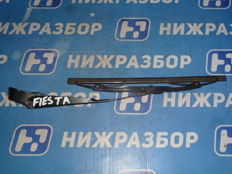 Поводок стеклоочистителя Ford Fiesta 1.4 (FXJA) 2008 задний (б/у)