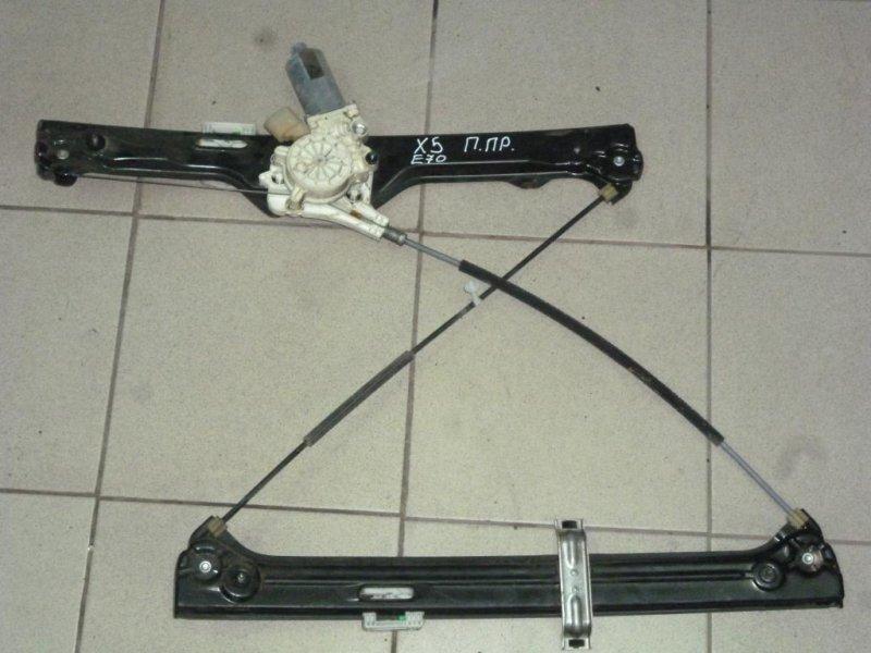 Стеклоподъемник эл. Bmw X5 E70 2007 передний правый (б/у)