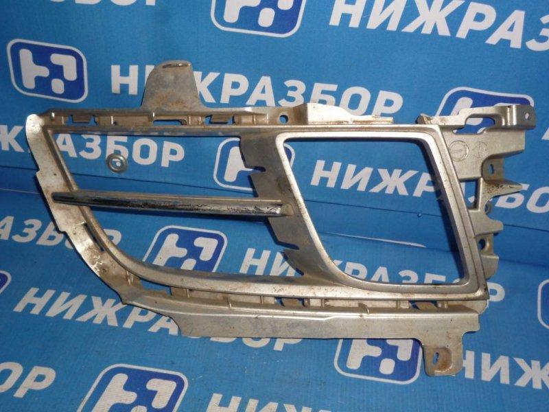 Рамка противотуманой фары Mazda 6 GH 2007 правая (б/у)