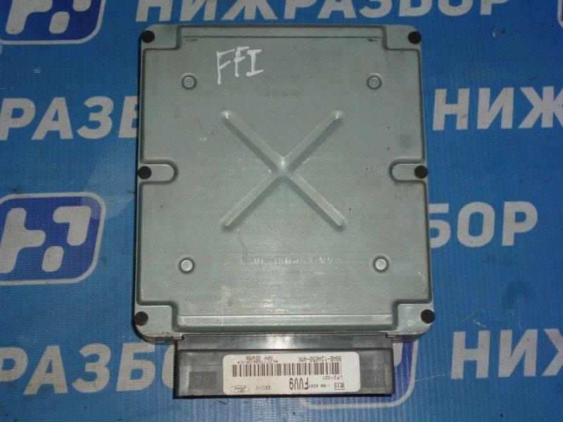 Блок управления двигателем Ford Focus 1 СЕДАН 2.0L SPLIT PORT 2000 (б/у)