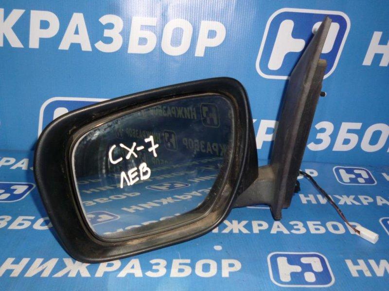 Зеркало электрическое Mazda Cx 7 ER 2.3T 2007 левое (б/у)