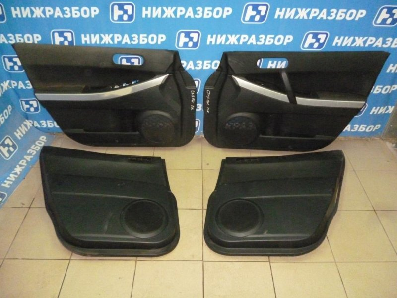 Обшивки двери к-кт Mazda Cx 7 ER 2.3T 2007 (б/у)