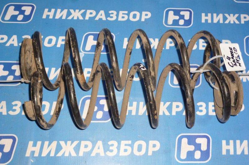 Пружина Citroen C4 ХЭТЧБЕК 1.6 (PSA NFU) 2005 задняя (б/у)