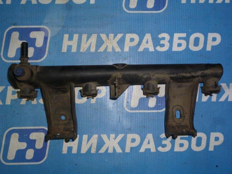 Рампа топливная Citroen C4 ХЭТЧБЕК 1.6 (PSA NFU) 2005 (б/у)