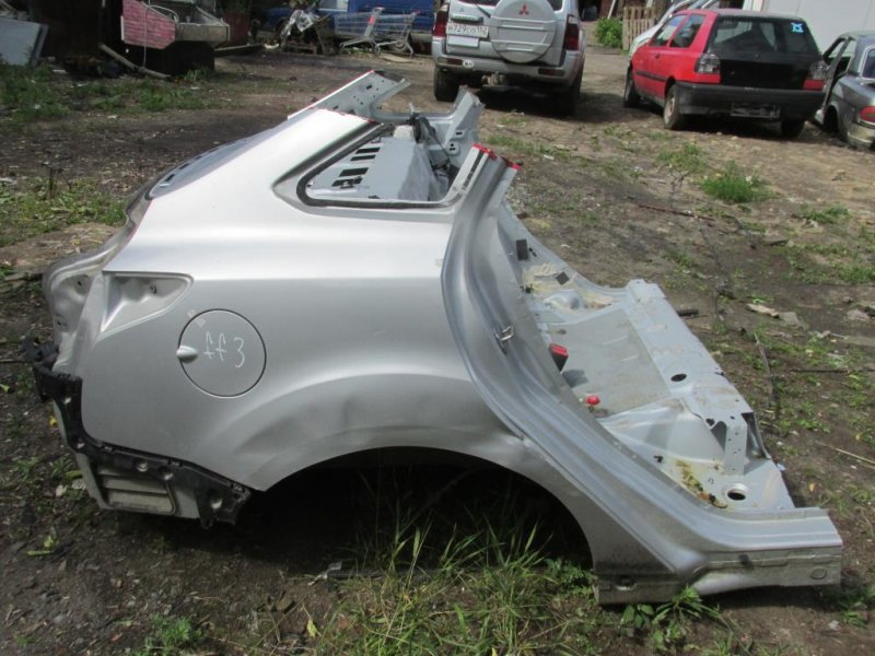 Часть кузова Ford Focus 3 СЕДАН 1.6 2013 задний (б/у)