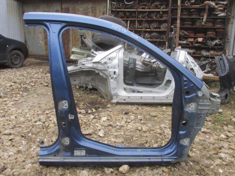 Порог Ford Fiesta 1.4 (FXJA) 2008 правый (б/у)