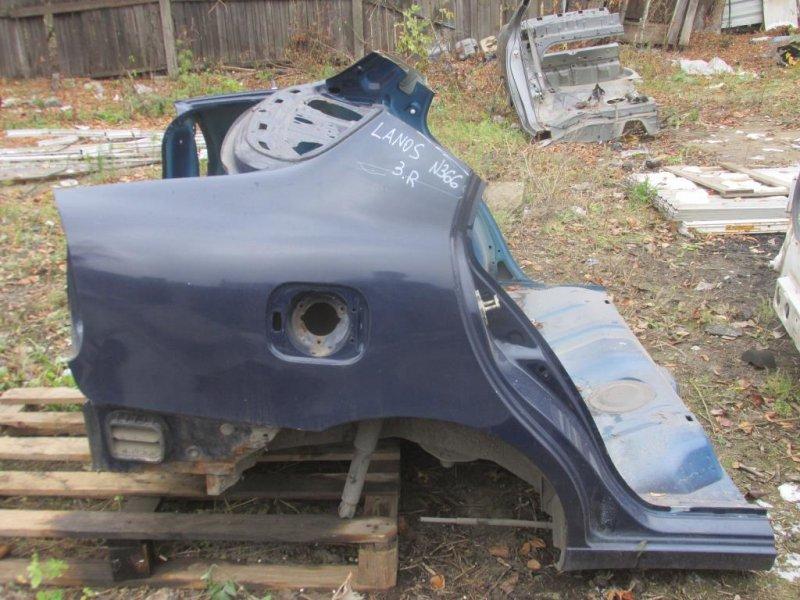 Часть кузова Chevrolet Lanos задний (б/у)