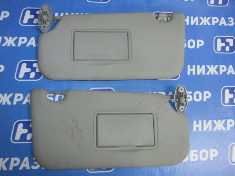 Козырек солнцезащитный Ford Fiesta 1.4 (FXJA) 2008 (б/у)