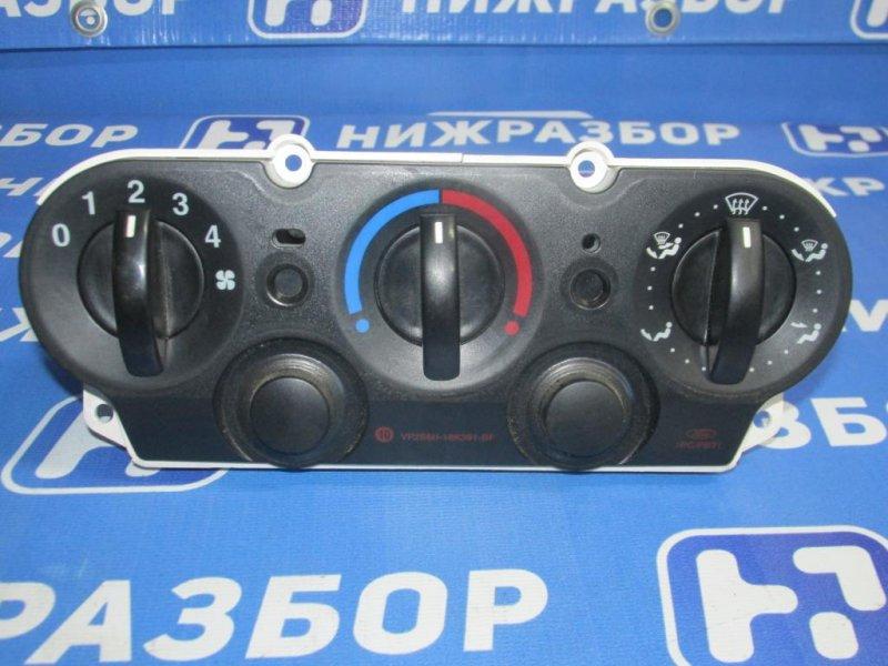 Блок управления отопителем Ford Fiesta 1.4 (FXJA) 2008 (б/у)