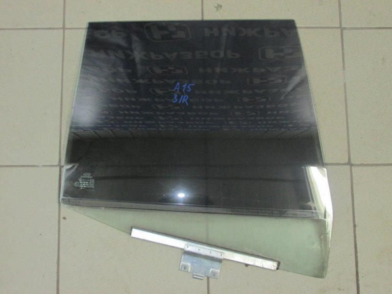 Стекло двери Chery Amulet A15 2006 заднее правое (б/у)