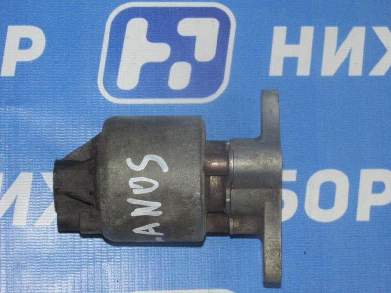 Клапан рециркуляции выхлопных газов Chevrolet Lanos 1.5L (A15SMS) ЕВРО-3 2008 (б/у)