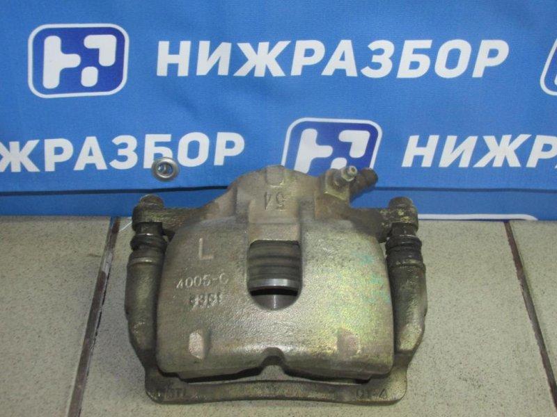 Суппорт Chery Amulet A15 2006 передний левый (б/у)