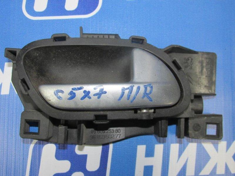 Ручка двери Citroen C5 2008> передняя правая (б/у)