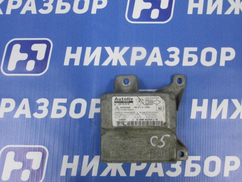 Блок управления air bag Citroen C5 2008> (б/у)