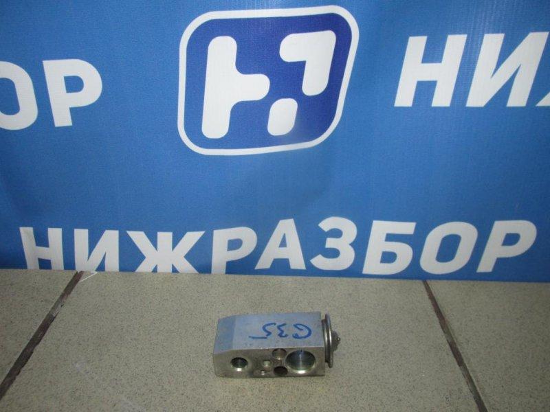 Клапан кондиционера Infiniti G 35 V36 2007 (б/у)
