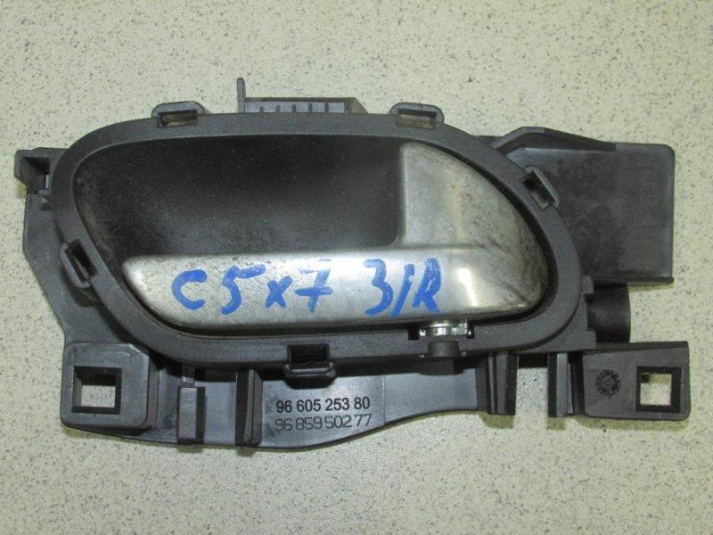 Ручка двери Citroen C5 2008> задняя правая (б/у)