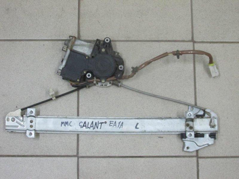 Стеклоподъемник эл. Mitsubishi Galant EA 1996 задний левый (б/у)