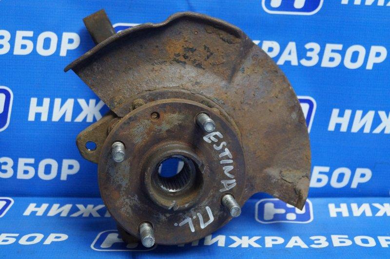 Кулак поворотный Vortex Estina 1.6 SQR 481F 2010 передний левый (б/у)