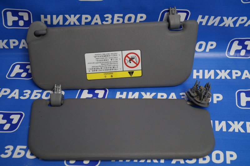 Козырек солнцезащитный Lifan Solano 620 1.6 LF481Q3 2011 (б/у)