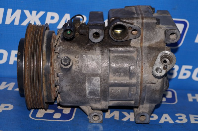 Компрессор кондиционера Hyundai Elantra HD 1.6 G4FC 2008 (б/у)