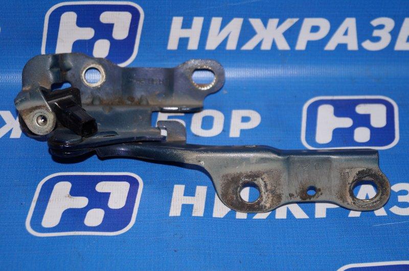 Петля капота Hyundai Elantra HD 1.6 G4FC 2008 левая (б/у)