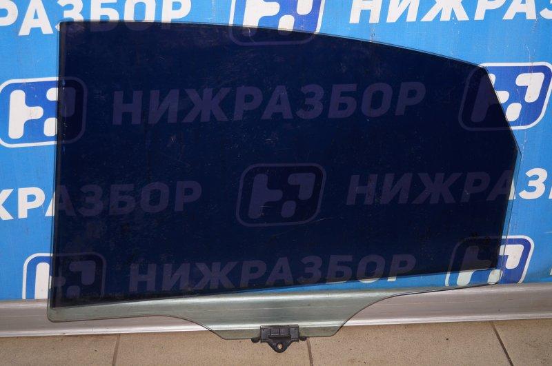 Стекло двери Hyundai Elantra HD 1.6 G4FC 2008 заднее правое (б/у)