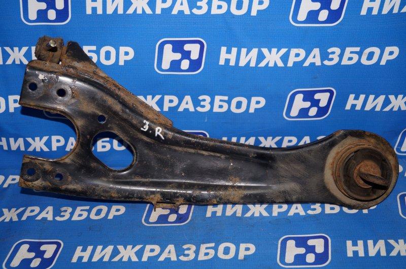 Рычаг продольный Hyundai Elantra HD 1.6 G4FC 2008 задний правый (б/у)