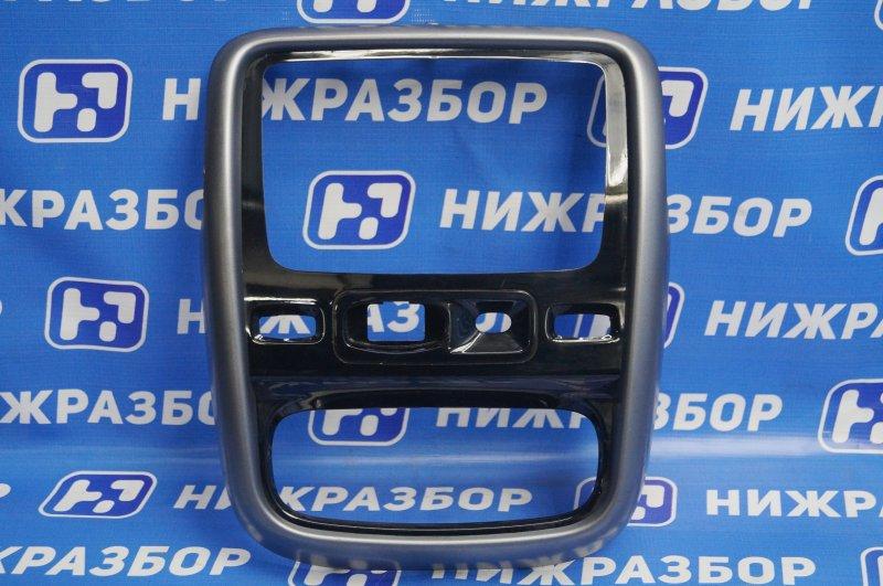 Рамка магнитолы Renault Duster 2.0 F4RB403 2012 (б/у)