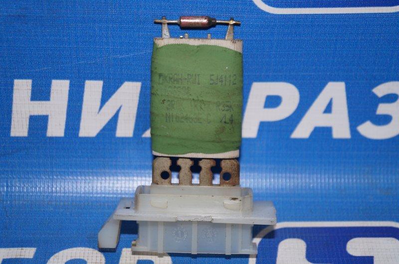 Резистор отопителя Renault Duster 2.0 F4RB403 2012 (б/у)