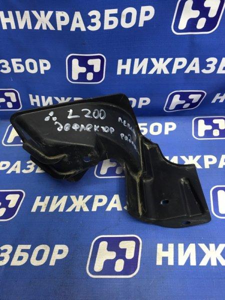 Дефлектор воздушный Mitsubishi L200 KB 2007 передний левый (б/у)