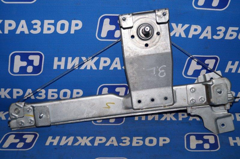 Стеклоподъемник мех. Renault Duster 2.0 F4RB403 2012 задний левый (б/у)