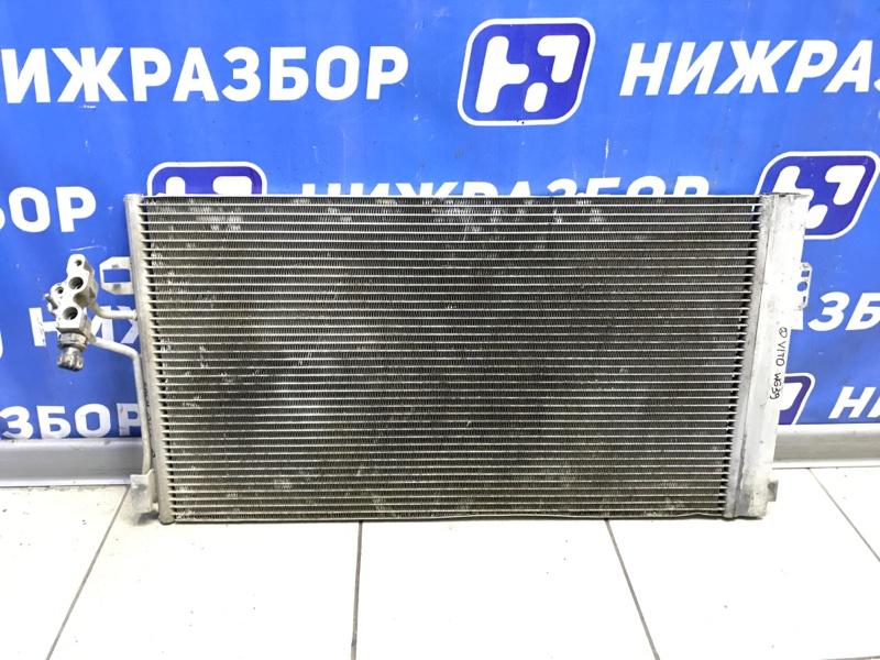 Радиатор кондиционера (конденсер) Mercedes Vito W639 (б/у)