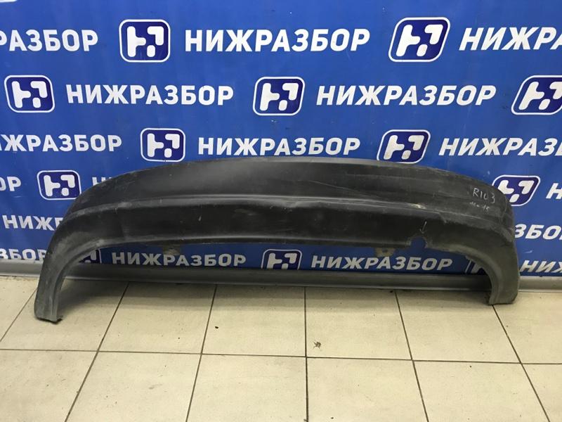 Юбка бампера Kia Rio 3 QB задняя (б/у)