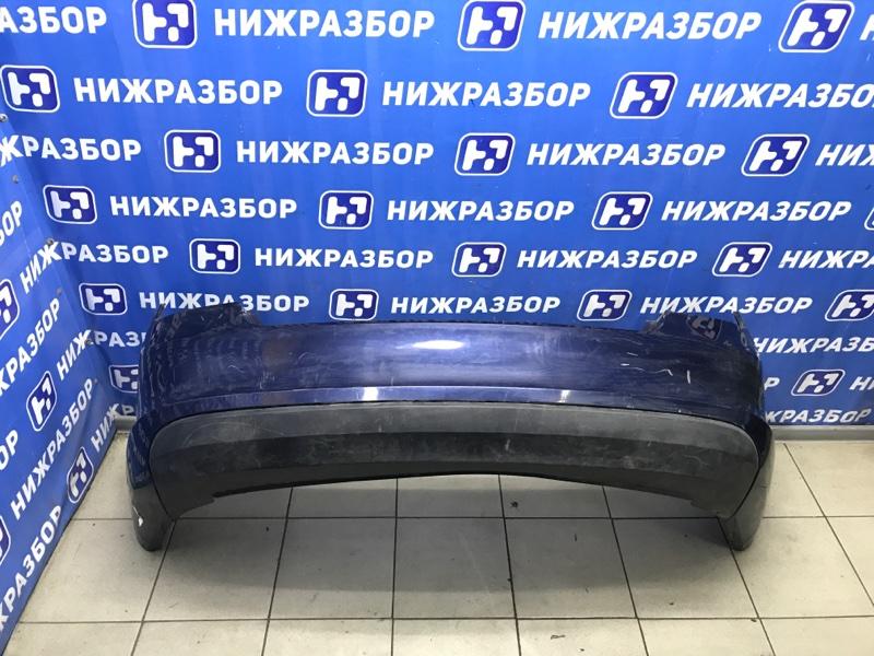 Бампер Skoda Rapid 2013> задний (б/у)