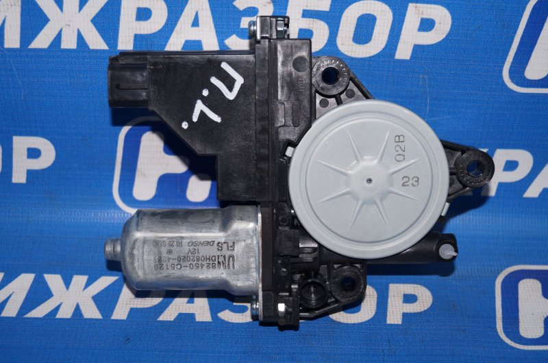 Моторчик стеклоподъемника Kia Sorento Prime UM 2.2 TDI (D4HB) 2018 передний левый (б/у)
