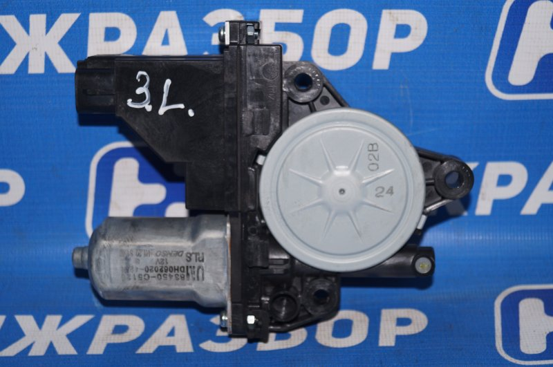 Моторчик стеклоподъемника Kia Sorento Prime UM 2.2 TDI (D4HB) 2018 задний левый (б/у)