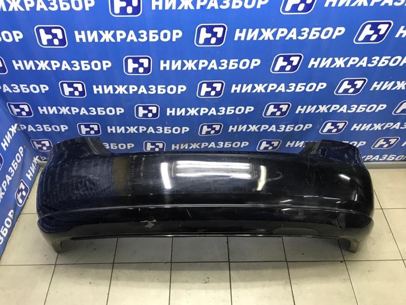 Бампер Volkswagen Polo Sedan задний (б/у)