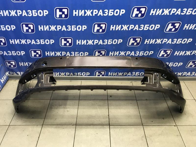 Бампер Volkswagen Polo Sedan передний (б/у)