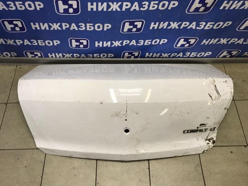 Крышка багажника Chevrolet Cobalt Lt задняя (б/у)