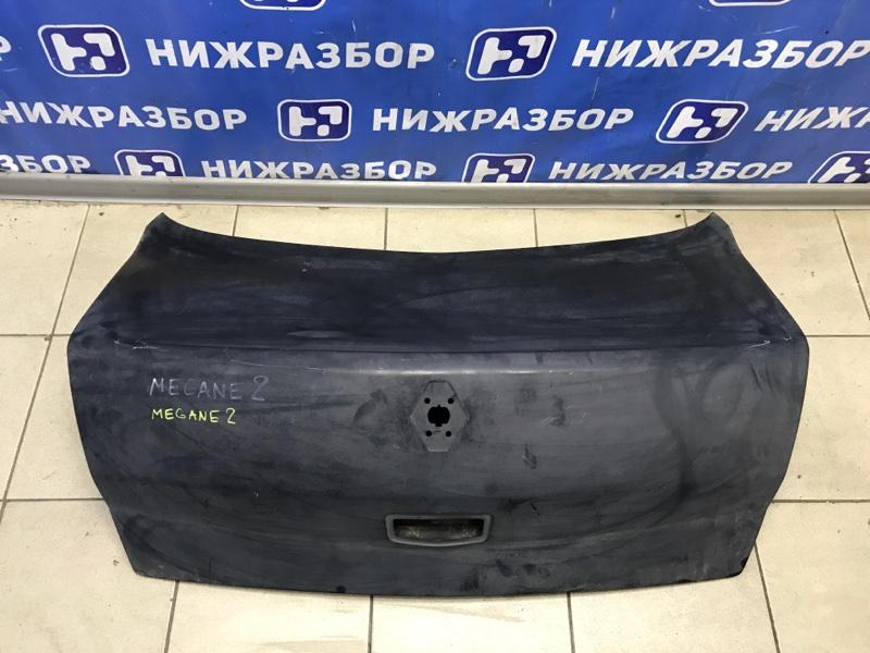 Крышка багажника Renault Megane 2 2002 задняя (б/у)